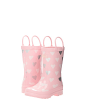 Hatley Kids - Polka Dot Hearts Rain Boots (Toddler/Little Kid)