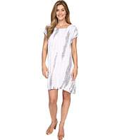Allen Allen - Tie-Dye Short Caftan Dress