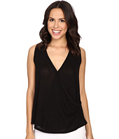 B Collection by Bobeau - Karlie Cross Front Knit Tank Top