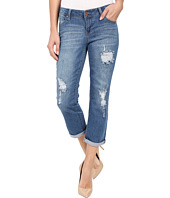 Liverpool - Corey Cropped Boyfriend Jeans in Melbourne Light Blue