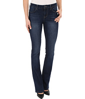 Liverpool - Logan Hugger Contour 4-Way Stretch Denim Bootcut Jeans in Orion Medium Dark Indigo