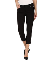 Liverpool - Milly Hugger Contour 4-Way Stretch Capri Jeans in Black