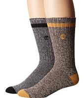 Timberland - Rugged Heritage 2-Pack Crew Socks