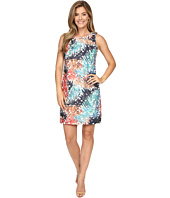 Vince Camuto - Sleeveless Tropical Mystique Printed Lace Dress