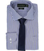 LAUREN Ralph Lauren - Bengal Stripe Spread Collar Slim Button Down Shirt