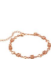Nina - Morganite Heart Link Bracelet
