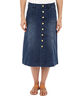 Jag Jeans - Barrett Button Front Denim Skirt