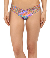 Luli Fama - Free Love Strappy Full Ruched Back Bottom