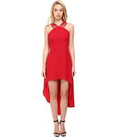 Halston Heritage - Multistrap High-Low Dress