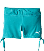 Puma Kids - Side Cinched Biker Shorts (Little Kids)