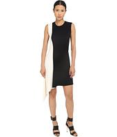 Neil Barrett - Mixed Yarns Bicolour Asymmetrical Dress