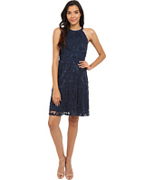 Adrianna Papell - Filigree Lace Fit & Flare Dress