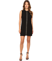 DSQUARED2 - Stretch Wool Chaine Embroidery Sleeveless Mini Dress