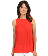 MICHAEL Michael Kors - Solid Pleated Top