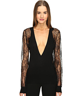 La Perla - Leisuring Top w/ Lace Sleeves