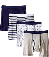 Trimfit - Monster Cotton Boxer Briefs 4-Pack (Toddler/Little Kids/Big Kids)