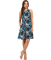 Donna Morgan - Faille Wide Strap A-Line Dress