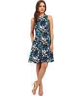 Donna Morgan - Faille Wide Strap A-Line Dress