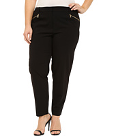 Calvin Klein Plus - Plus Size Skinny Pants with Zippers