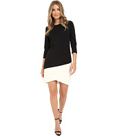 Christin Michaels - Long Sleeve Tulip Hem Dress