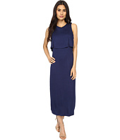 Culture Phit - Cora Midi Layered Dress with Side Cut Outs
