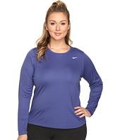 Nike - Miler Long-Sleeve Running Top (Size 1X-3X)