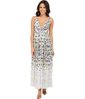 Brigitte Bailey - Ailsa Deep-V Floral Print Maxi Dress