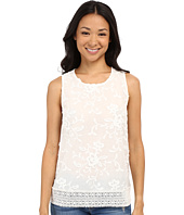 Lucky Brand - Floral Jacquard Tank Top
