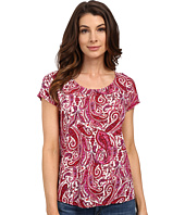 Lucky Brand - Printed Paisley Top