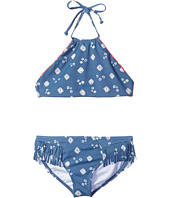 Billabong Kids - Bandana Rama High Neck Crop Set (Little Kids/Big Kids)