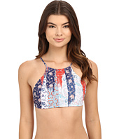 Seafolly - Out of the Blue Reverse Hi-Neck Tank Top