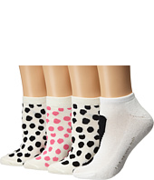 Kate Spade New York - 4-Pack Ped Socks
