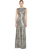 Donna Morgan - Boat Neck Empire Waist Sequin