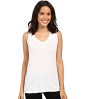 Michael Stars - Slub Vee Neck Tank Top