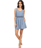 Michael Stars - Linen Denim Tencel Open Back Dress