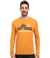 Life is Good - Downhill Long Sleeve Cool Tee