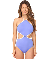 Kate Spade New York - Cut Out High Neck Maillot