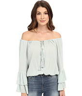 Culture Phit - Coralee Woven Top with Tassels