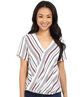 Brigitte Bailey - Annora Short Sleeve Crossover Top