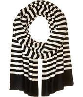 Marc Jacobs - Logo Stripe Scarf