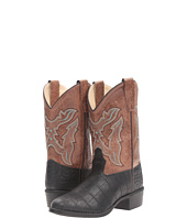 Old West Kids Boots - Round Toe Croco Print (Toddler/Little Kid)