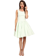 Unique Vintage - Roman Holiday Brushed Cotton Swing Dress