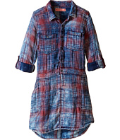 Blank NYC Kids - Plaid Shirtdress in Jitney (Big Kids)
