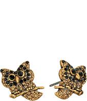 Marc Jacobs - Charms Owl Studs Earrings