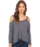 Culture Phit - Alessia Ribbed Cold Shoulder Top
