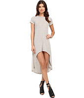 Culture Phit - Fia Striped High-Low Dress