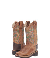 Old West Kids Boots - Square Toe Crepe Sole Tan Fry (Toddler/Little Kid)