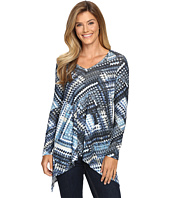 Karen Kane - Blue Diamond Hi-Lo Top