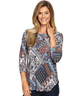 Karen Kane - Sonoran Patchwork Top