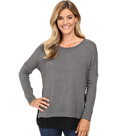 Karen Kane - Lace Hem Sweater Top